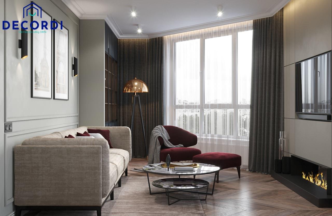 Cách phối màu phòng khách cho chung cư nhỏ mà vẫn lịch lãm, đẹp mắt