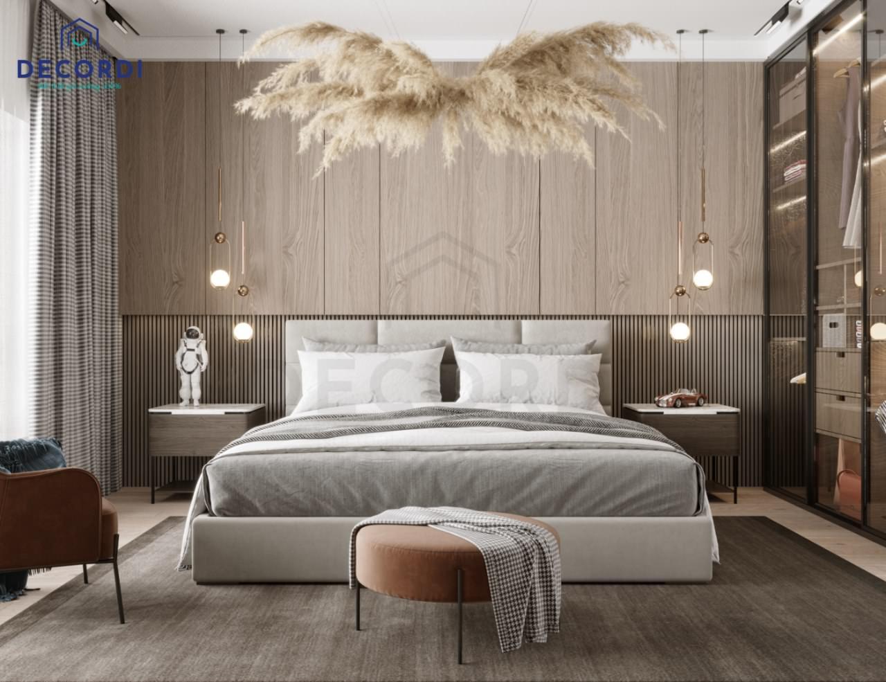 nội thất phòng ngủ master đẹp trẻ trung