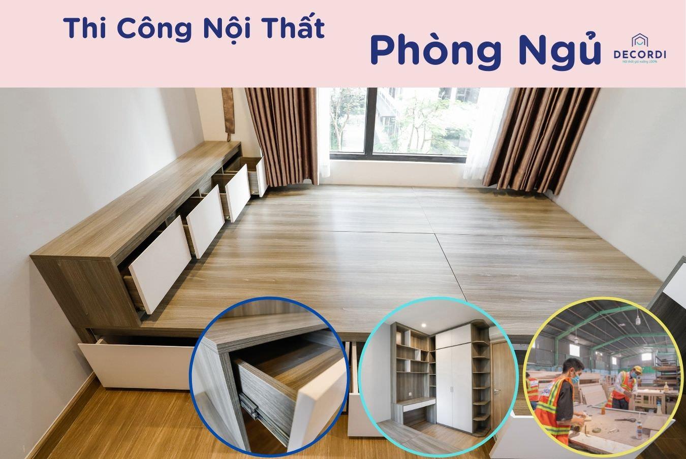 thi cong noi that phong ngu 2