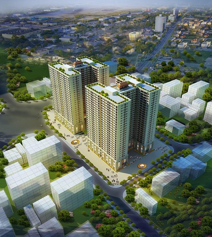 Thiet Ke Noi That Chung Cu Hoa Binh Green City 1