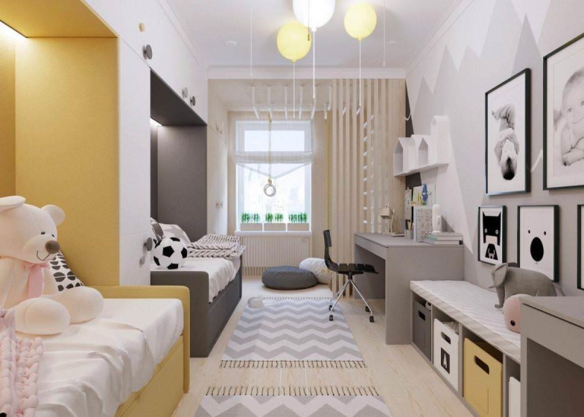 Thiết kế 2 giường đơn đặt thẳng hàng tiết kiệm không gian