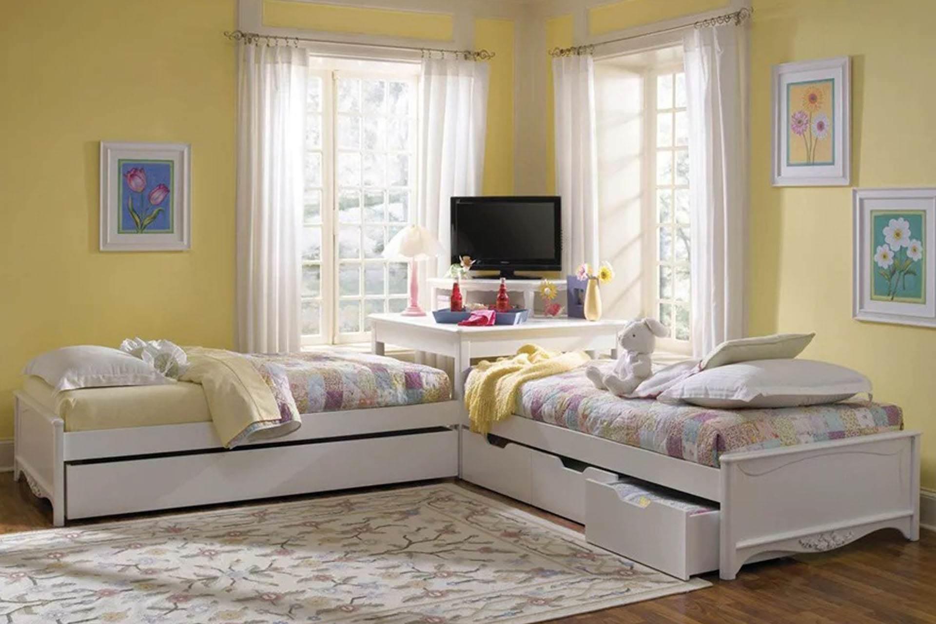 Cân nhắc cách bố trí phòng ngủ riêng cho các bé