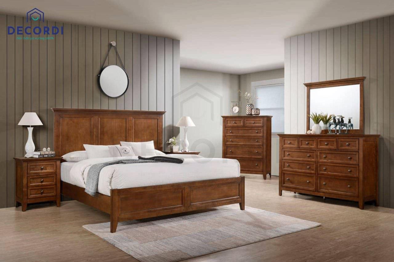 Nên lót sàn gỗ cho phòng ngủ ông bà