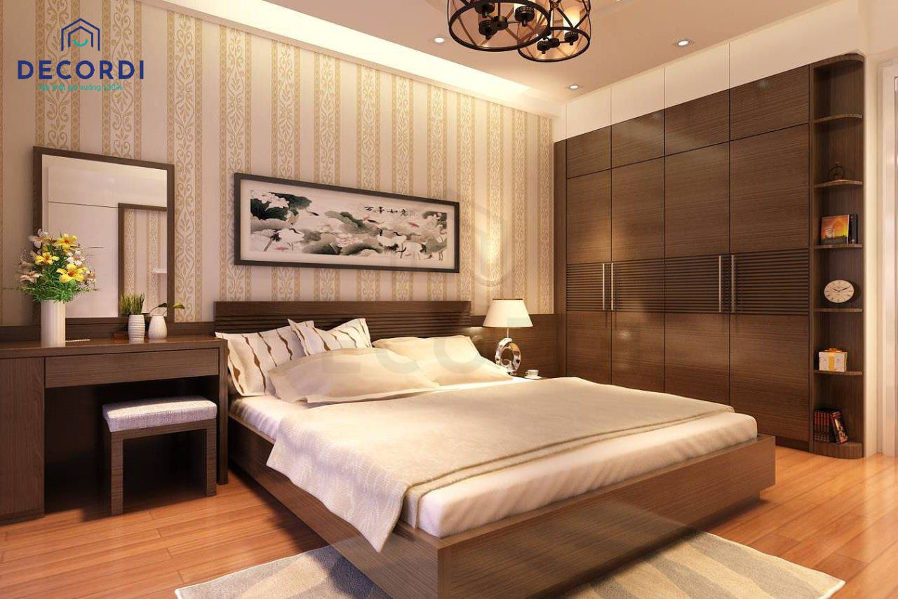 Mẫu phòng ngủ ông bà ấm cúng, riêng tư