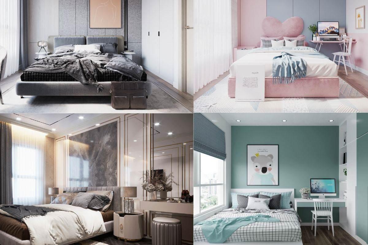 Lựa chọn màu sơn phòng ngủ phù hợp với lứa tuổi