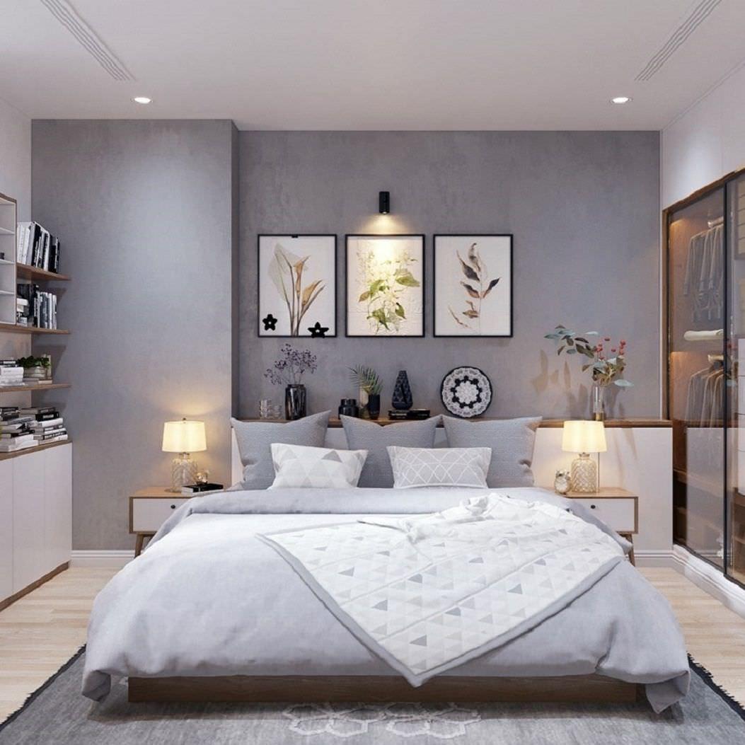 Mẫu tranh treo tường phòng ngủ đẹp