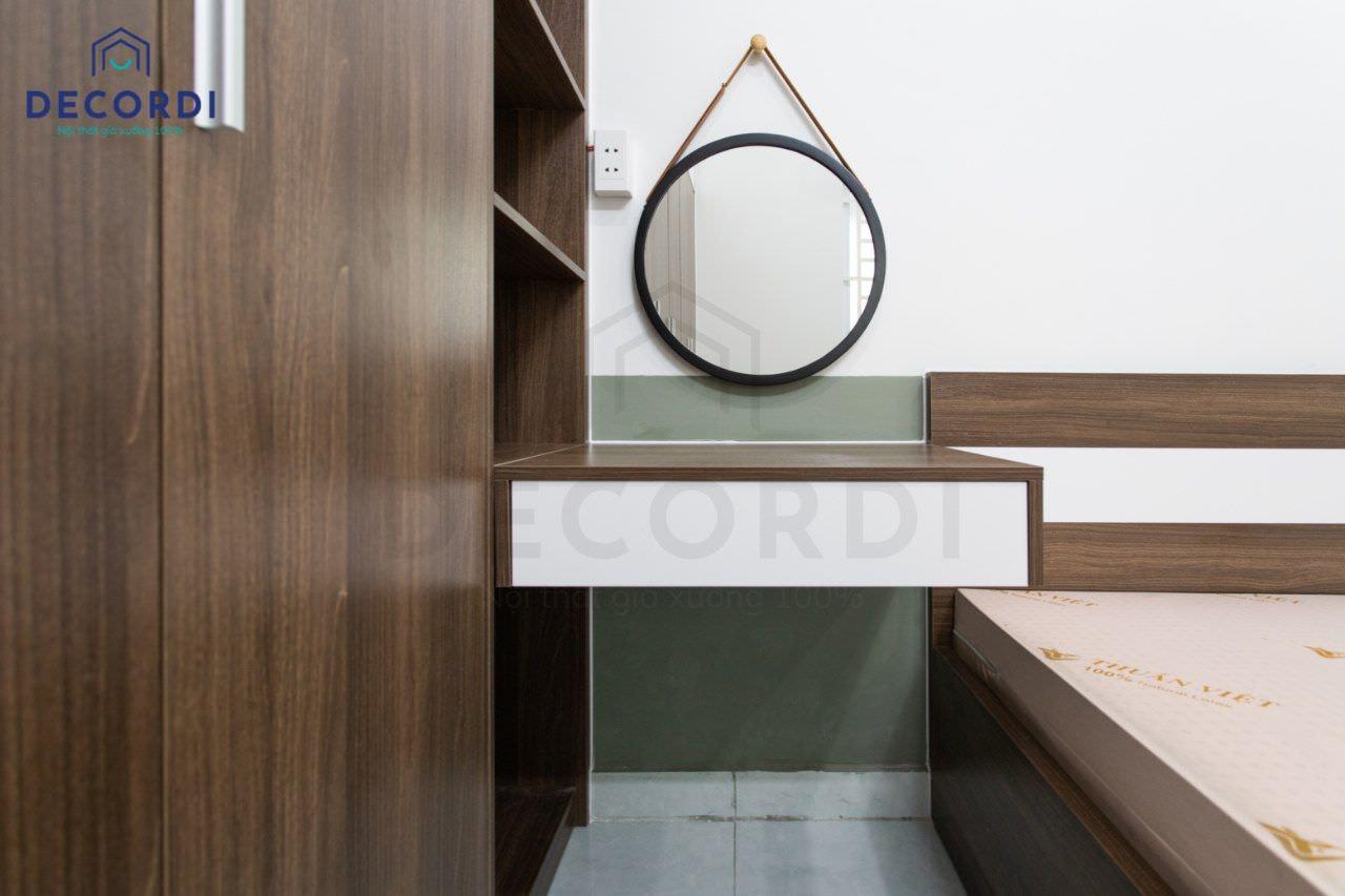 Bề mặt nội thất nhẵn mịn, giữ được độ bền màu trong thời gian dài sử dụng