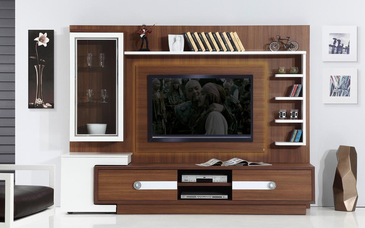 Kệ tivi kết hợp tủ rượu nhỏ