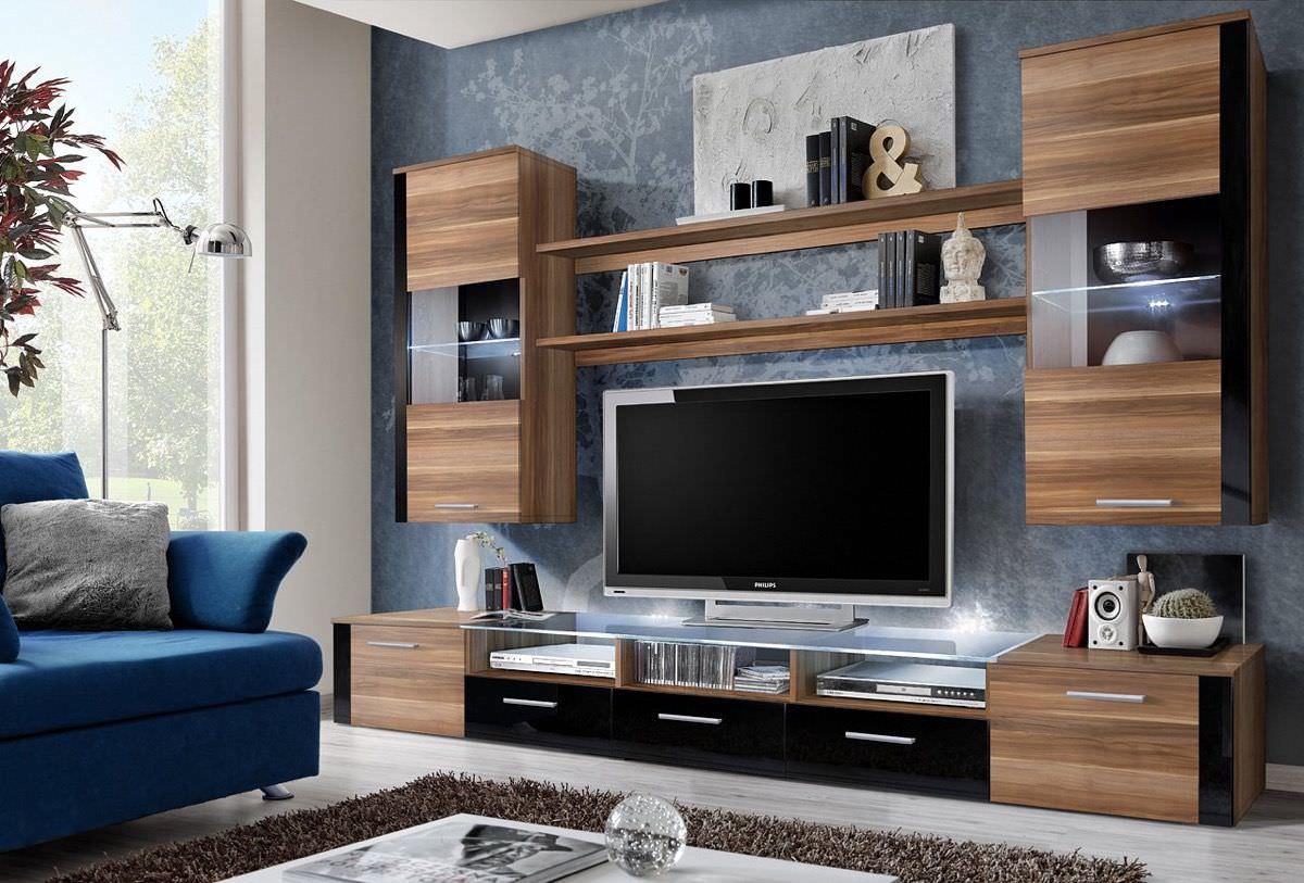 Thiết kế kệ tivi phong cách hiện đại cho nhà chung cư