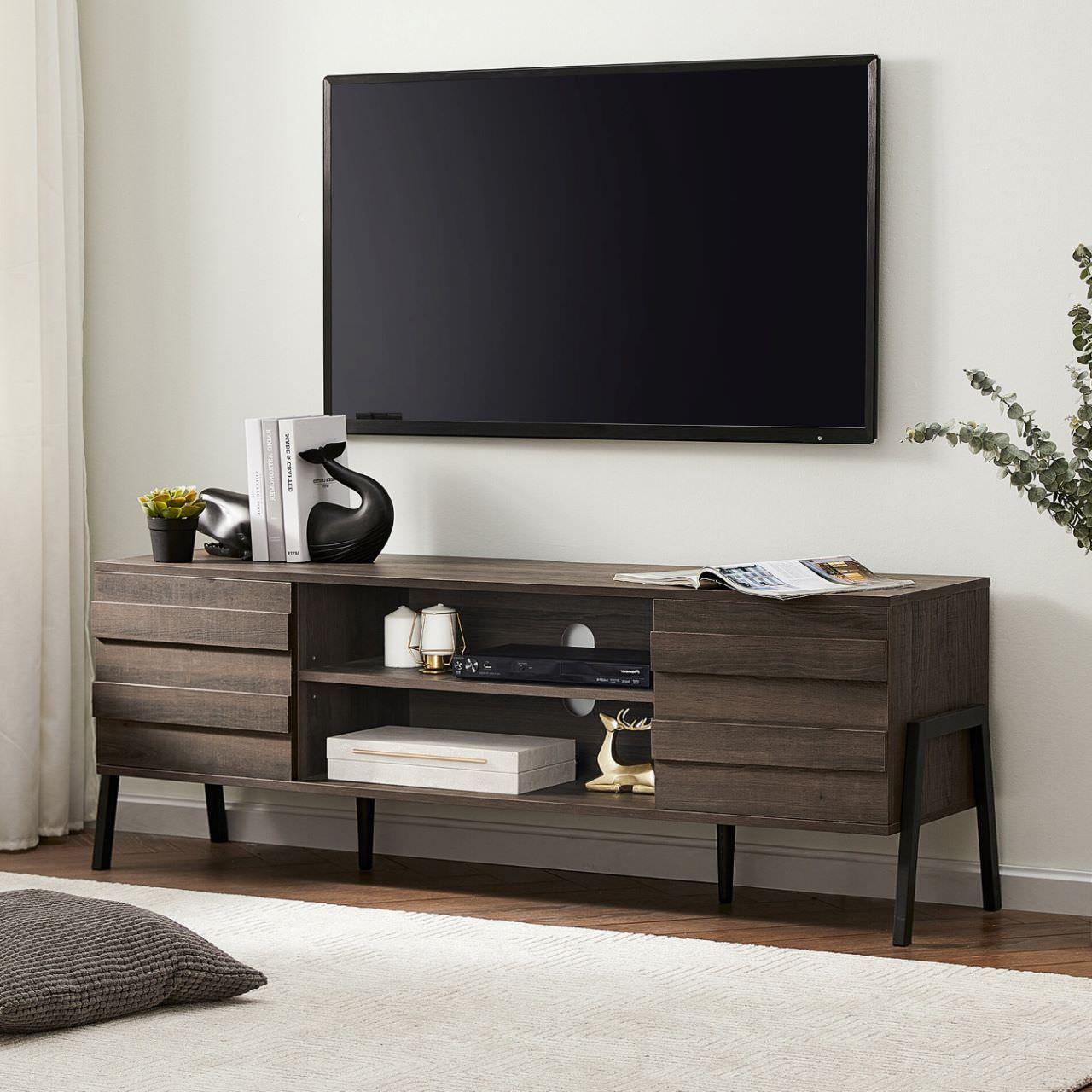 Mẫu kệ tivi gỗ đẹp hiện đại giá rẻ cho phòng khách nhỏ