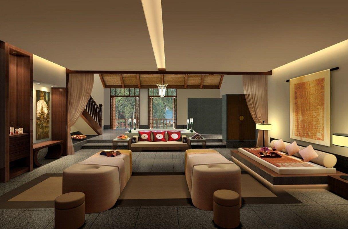 Kiểu thiết kế phòng khách đặc trưng với bộ sofa bệt