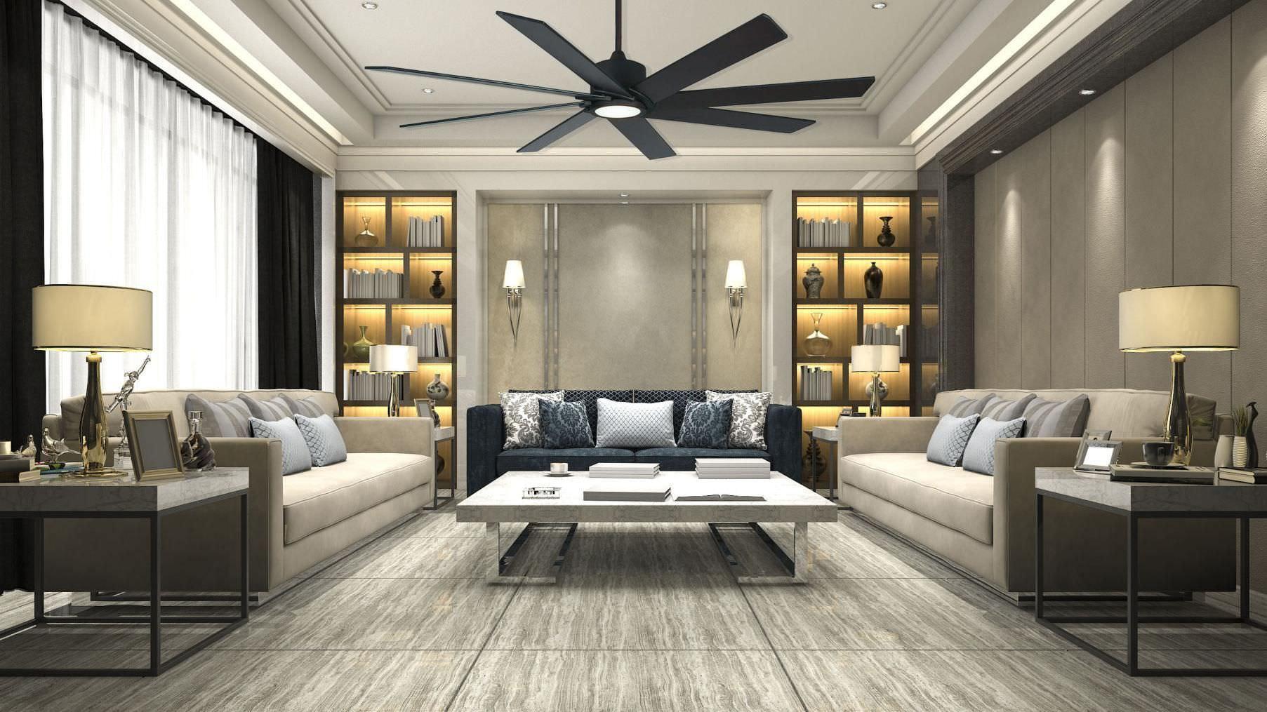 Cách bố trí phòng khách kiểu Nhật cho nhà chung cư lớn