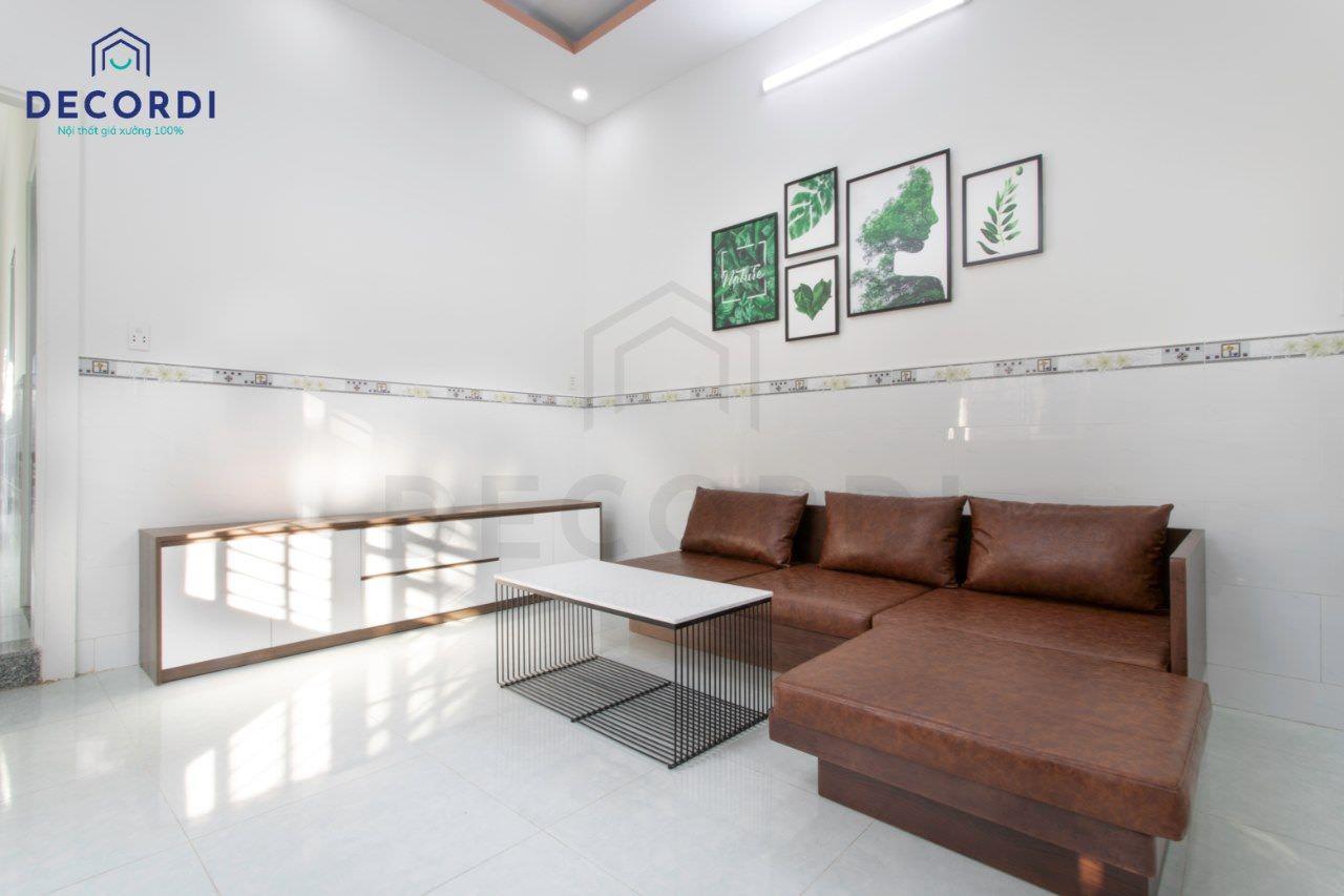 Trang trí phòng khách với tranh treo tường độc đáo