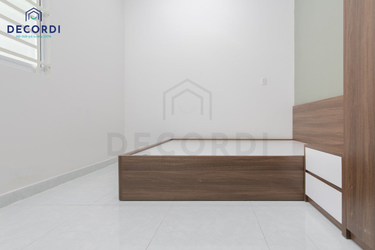 Thi công nội thất phòng ngủ nhỏ cho nhà phố