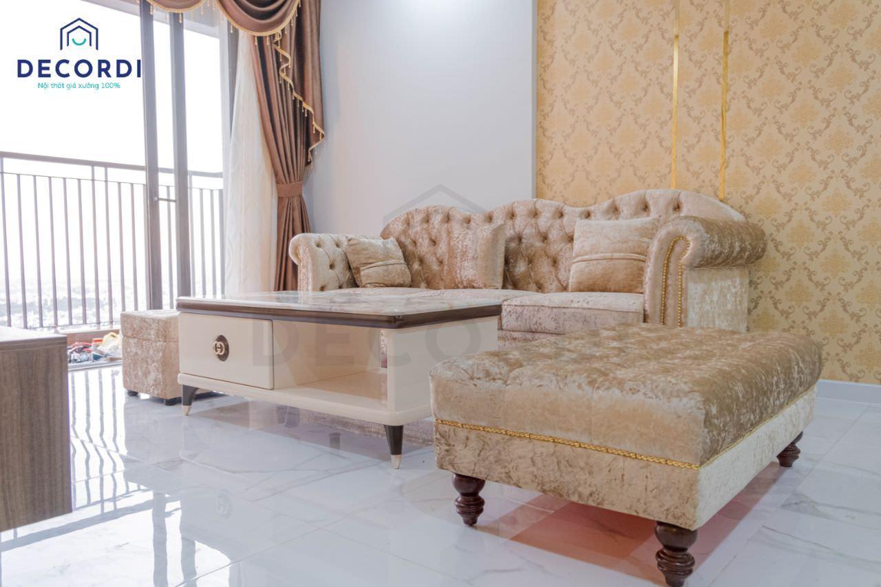 2.1 bo sofa phong khach boc nem cao cap