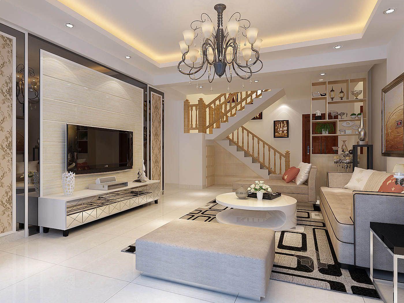 Cách phối màu kem với ánh bạc tinh tế cho không gian phòng khách thêm thu hút